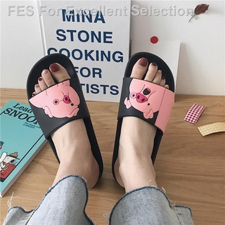 ⊙●Mystery. Jade-like stone bath slippers female summer indoor household anti-skid bathroom lovely students soft bott