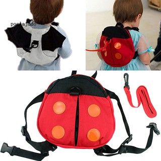 POS_Ladybug Baby Kid Toddler Keeper Walking Safety Harness Backpack Leash Strap Bag