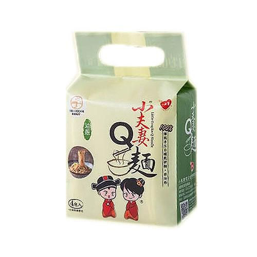 Little Couple Q Noodle Oil Onion Flavor Dried Mixed 123gx4 Place 小三美日 d825001