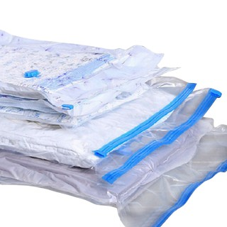 Vacuum Bag Foldable Organizer Travel Clothes Storage Bag Space Saving Seal Bags