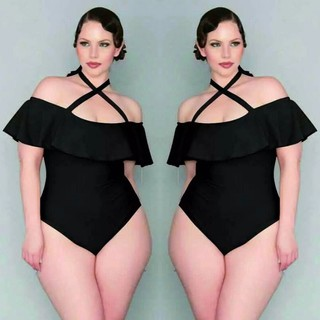 2017 New Plus Size Women Ladies One Piece Swimsuit Monokini Bikini Swimwear