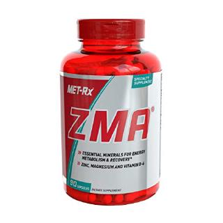 [From USA]MET-Rx ZMA Supplement Supports Muscle Recovery 90 Capsules