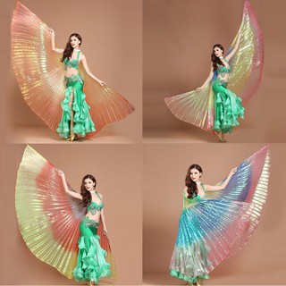 Egypt Belly Wings Dancing Costume Belly Dance accessories No Sticks