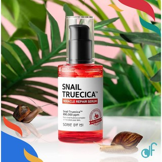 [SOMEBYMI] Snail Truecica Miracle Repair Serum 50ml 韩国SOMEBYMI莎柏蜜蜗牛精华修复液