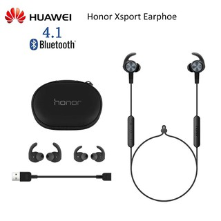 Original Huawei Honor Xsport Wireless Earphone AM61 Bluetooth V4.1 IPX5 Waterproof Mic Control Wireless Earphone for And