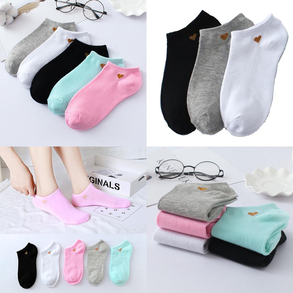 Women's Breathable Shallow Socks Sweat-absorbent Non-slip Short Stockings