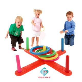 New Kids Outdoor Games for Family - Ring Toss Yard Games