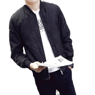 🌟WHOLESALE🌟1 Day Delivery🌟BagMarket🌟Local Shipment Korean Style Casual Men Slim Fit Bomber Jacket