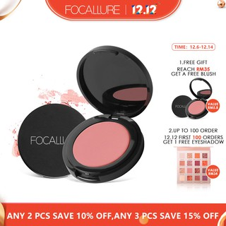 FOCALLURE Blush Powder Natural Blusher Makeup - 11 Colors
