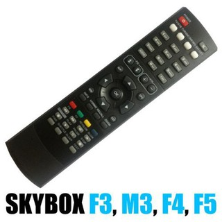 REMOTE CONTROL FOR STB SATELITE BOX FREESAT , SKYBOX AND ETC .