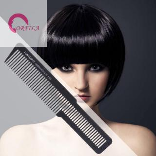 orf!Pro Hair Comb Flat Head Anti-static Cutting Combs for Salon Styling Haircut Tool