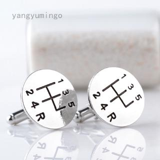 yangyumingo Factory Hot Selling French shirt cufflinks men's personality car stalls modeling cuff sleeve