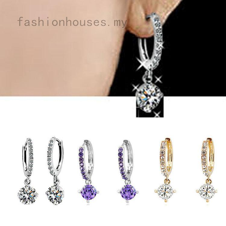 Charming Jewelry Accessories Circle Women Earring 2 Colors