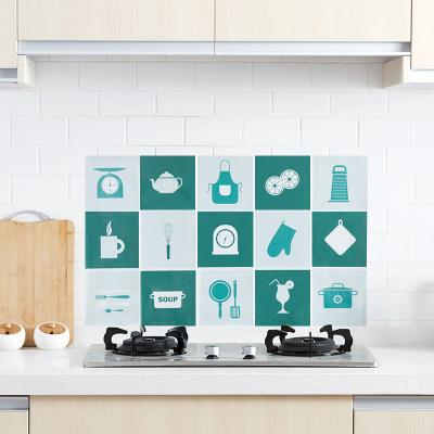 Household Stove High Temperature Greaseproof Sticker Kitchen Wallpaper