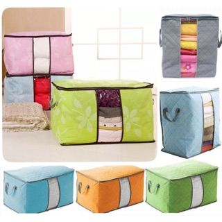 《Mega Deal》Large Foldable Clothes Storage Zipper Bag Case Container Organizers Container Box