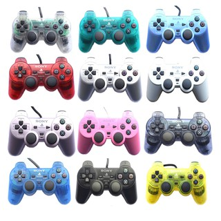 PlayStation 2 PS2 Controller Analog Dualshock Wired Cable Colour Controller