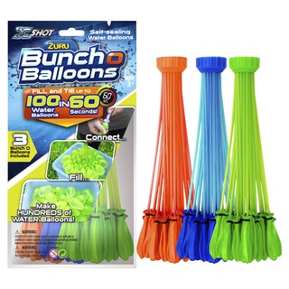 (Ready Stock In Malaysia) 3 Bunches 100Pcs Water Balloons Bombs Outdoor Party Garden