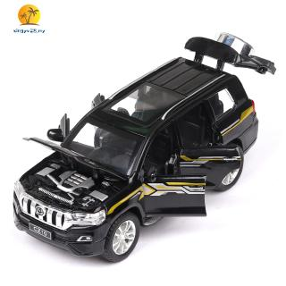Prado Alloy Pull Back Car Model with Light Sound Car Children Car Model