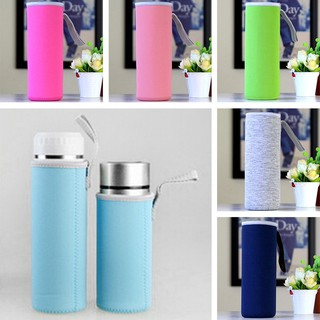 360ML/550ML Portable Warm Heat Insulation Water Bottle Bags Cup Bag U256F