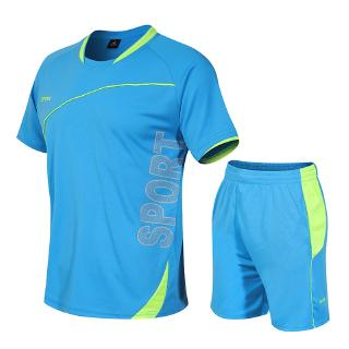 Sports Suit Running Leisure Wear Men's Football Wear Training Clothing Development Activity Clothing 6 colors