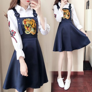 Petite 150CM short women's clothing store autumn 155 with short skirt clothes significantly higher student str