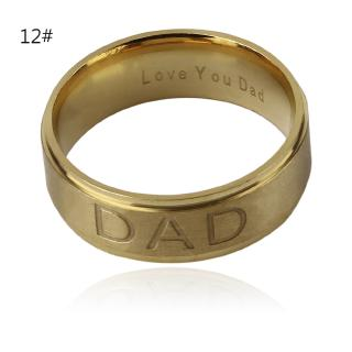 FMD 8mm European And American Style Fashion Stainless Steel Ring Men Women