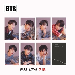 Kpop BTS FAKE LOVE YOURSELF Paper Photo Cards Jungkook Jimin Photocard Poster