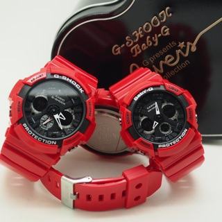 Gshock GA-200 Couple Set Analog Digital