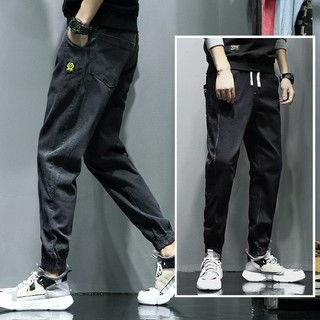 [zhx]Casual pants loose sports Korean version of the trend of large size jeans m