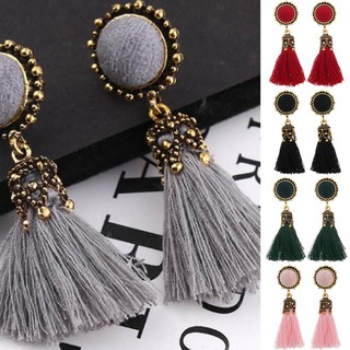 Fashion Retro Bohemia Style Earrings Tassel Earrings Ladies Wedding Earrings