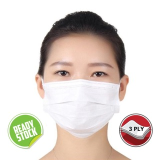 [READY STOCK] Surgical Face Mask 3-ply