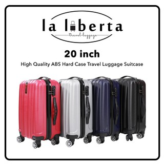 LALIBERTA LL103A 20 inch High Quality ABS Hard Case Travel Luggage Suitcase