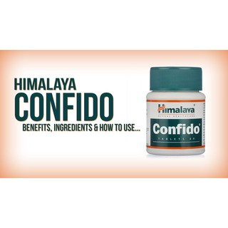 Himalaya CONFIDO for men 60 tablets Readystock