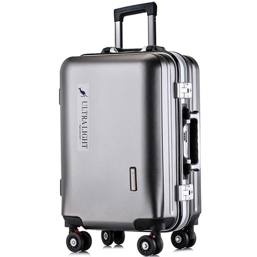 360° Ultra-Silent Travel Case Men And Women Concise Business Suitcase Affairs Exceed Light Travel Luggage Box With Lock