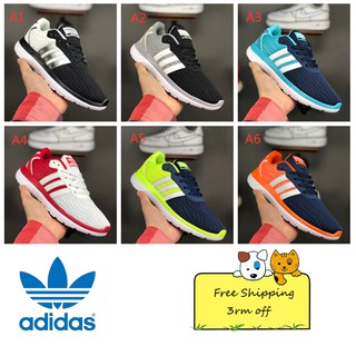 Adidas Summer Breathable Shoes Men and Women Running Shoes Size 36-44