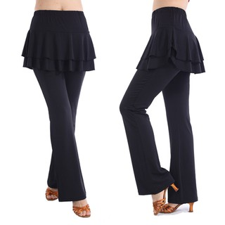 Muslimah  Palazzo Pants Plus Size Yoga Sport Muslim Casual Dance Skirts Pants