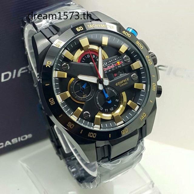 CASIO EDIFICE EFR 540 RB REDBULL BLACK GOLD