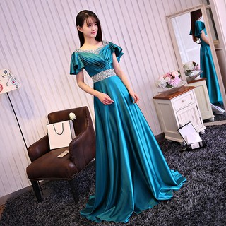 PO back pink red gold turquoise green blue purple pink prom dress  RBP0249