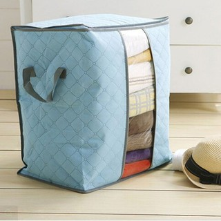 ALU~Ready Stock Portable Organizer Quilt Clothing Non-Woven Storage Bag
