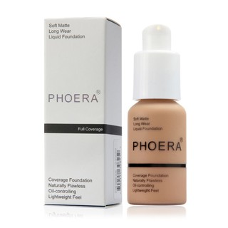 [IN STOCK] Hot Sale PHOERA Liquid Concealer Full Coverage Foundation Face Makeup