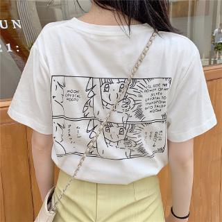 hot Sale Stitching T-shirts Summer Couple Girlfriends Tee Student Casual Korea Slim-fit Blouse Long-sleeve