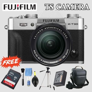 FUJIFILM X-T30 / XT30 WITH KIT LENS 18-55MM CHARCOAL SILVER (FUJIFILM MALAYSIA)
