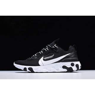 Original Undercover x Nike React Element 87 Black White Mens and Womens Size AQ1813-337