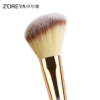 Drow single cheek is red brush, powder paint grooming brush bb cream shadows beginners painting foundation brush.