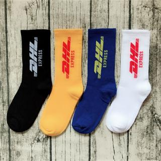 flash saleReady Stock! Hipster Funny Cotton DHL Socks For Women Men Crew Socks -the lowest price