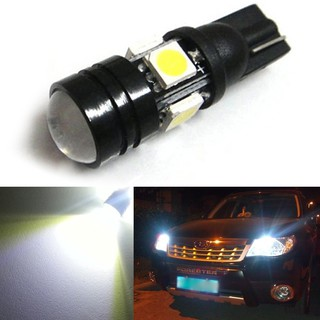 T10-4(5050) SMD LED Car Decoration Lamp With Convex Lens, 1.5W Ultra Bright Lamp License Plate Lamp