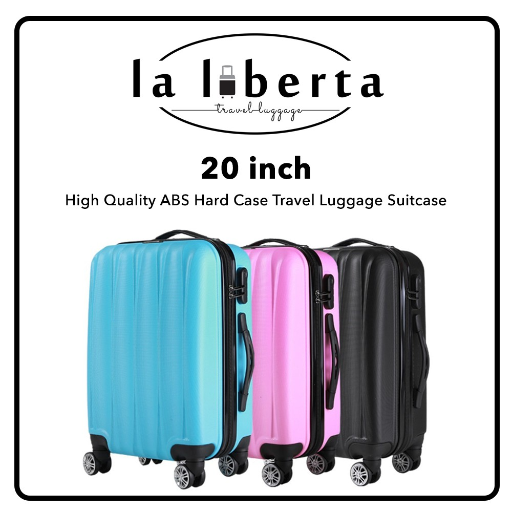LALIBERTA LL102A 20 inch High Quality ABS Hard Case Travel Luggage Suitcase