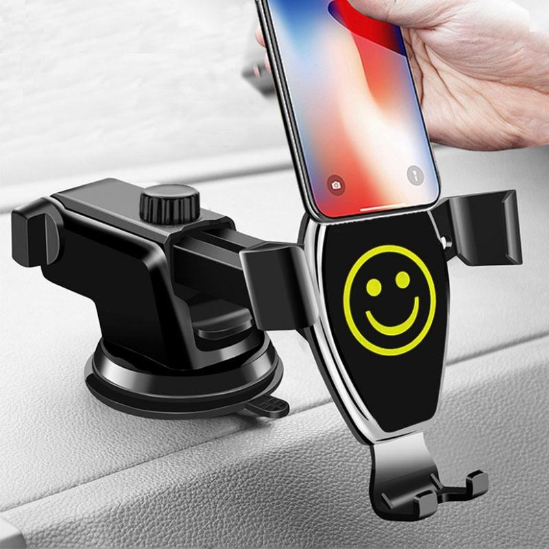 Car Air Vent Dashboard Windshield Mobile Phone GPS Telescopic Arm Bracket Holder
