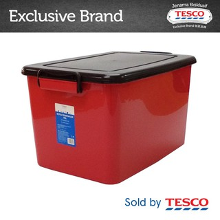 Tesco Basic Storage Box - Assorted Color (45L) 706SC