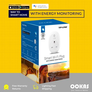 TP-LINK Wireless Smart Plug with Energy Monitoring HS110